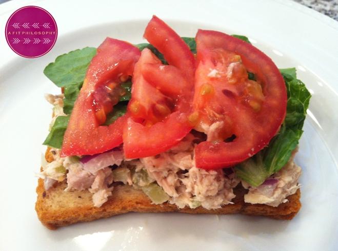 Ripped recipes a healthy twist on a tuna fish sandwich for Is tuna fish healthy