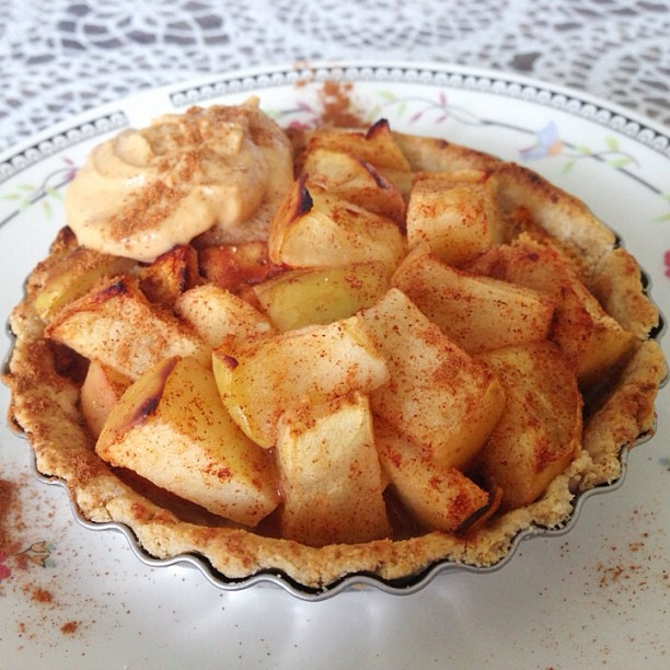 Apple Pie with Quest Bar Pieces