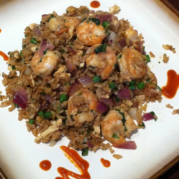 Ripped Recipes - Brown Fried Rice With Shrimp