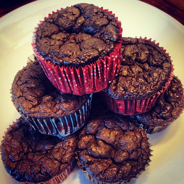 Ripped Recipes - Chocolate Brownie Cupcakes