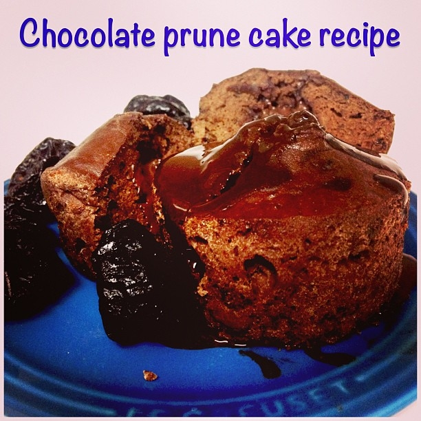 Ripped Recipes - Chocolate Prune Cake