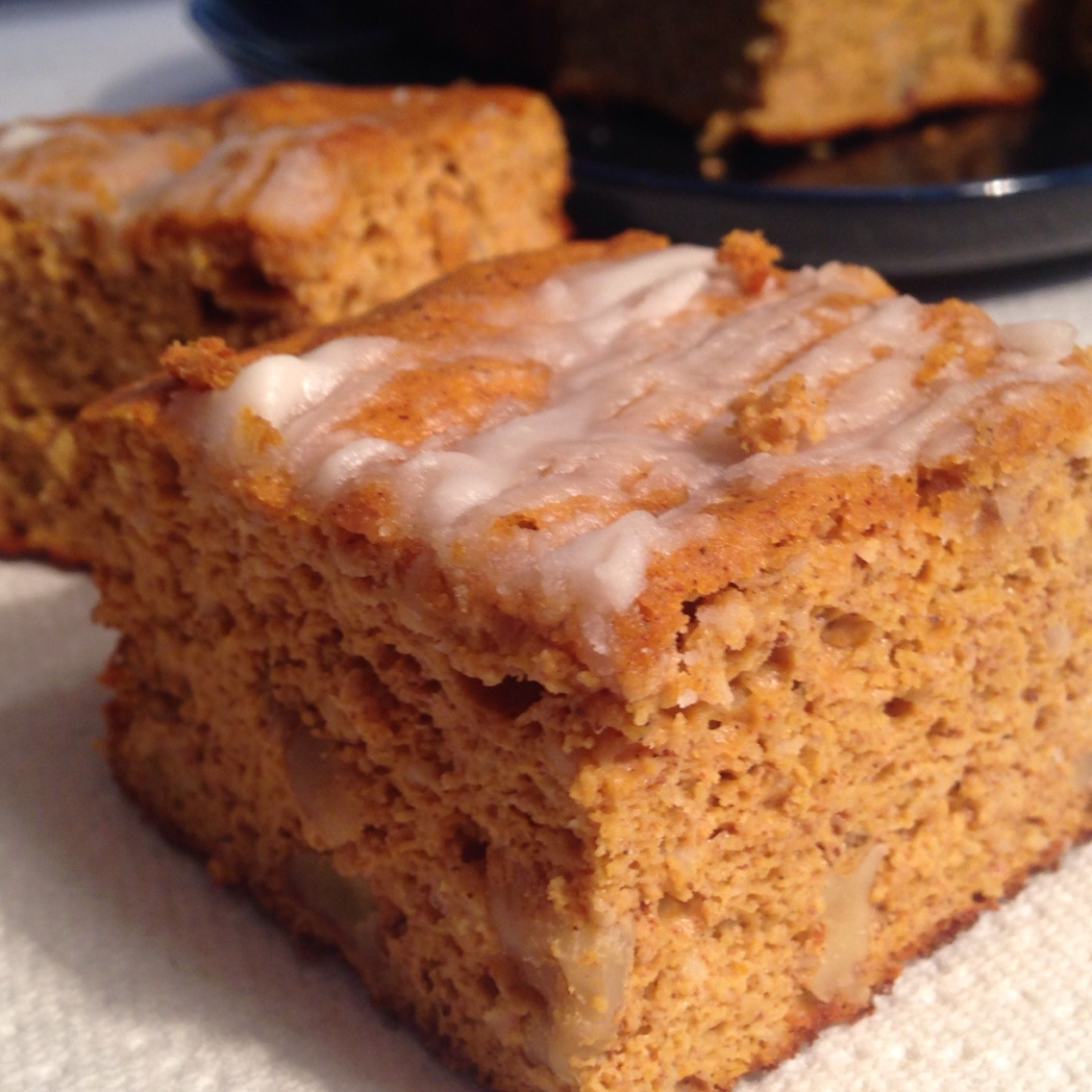 Pumpkin Dessert Bars Recipe: Pumpkin Dessert Squares