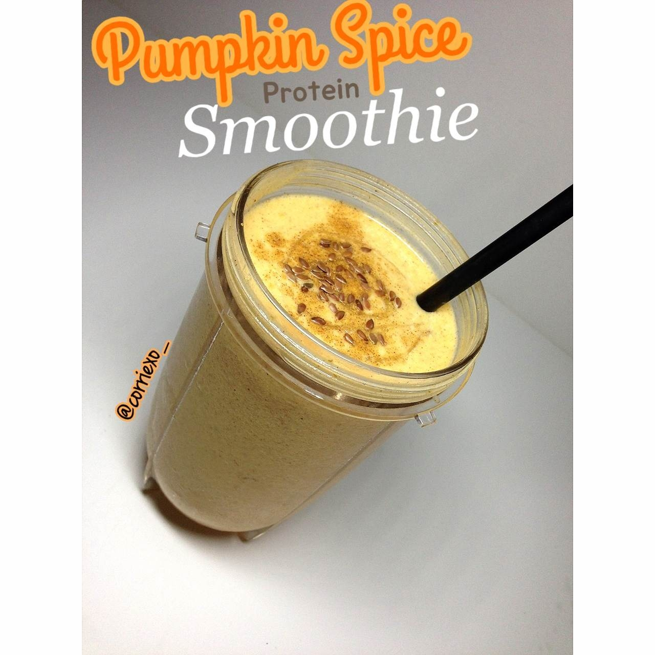 Ripped Recipes - Pumpkin Spice Protein Smoothie