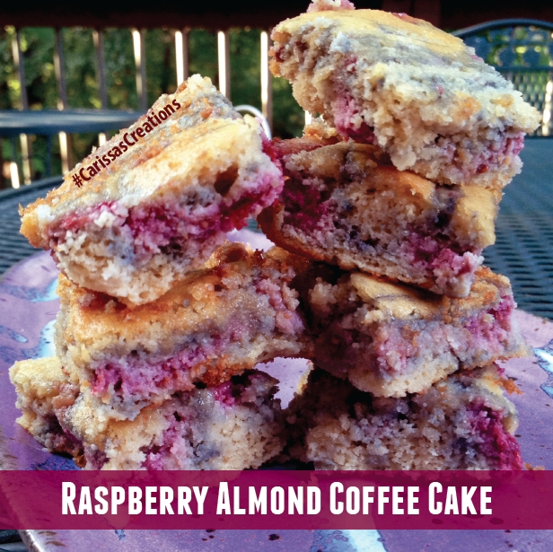 Ripped Recipes - Raspberry Almond Coffee Cake