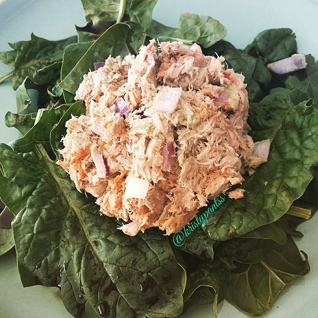 Spicy Avocado Tuna Salad