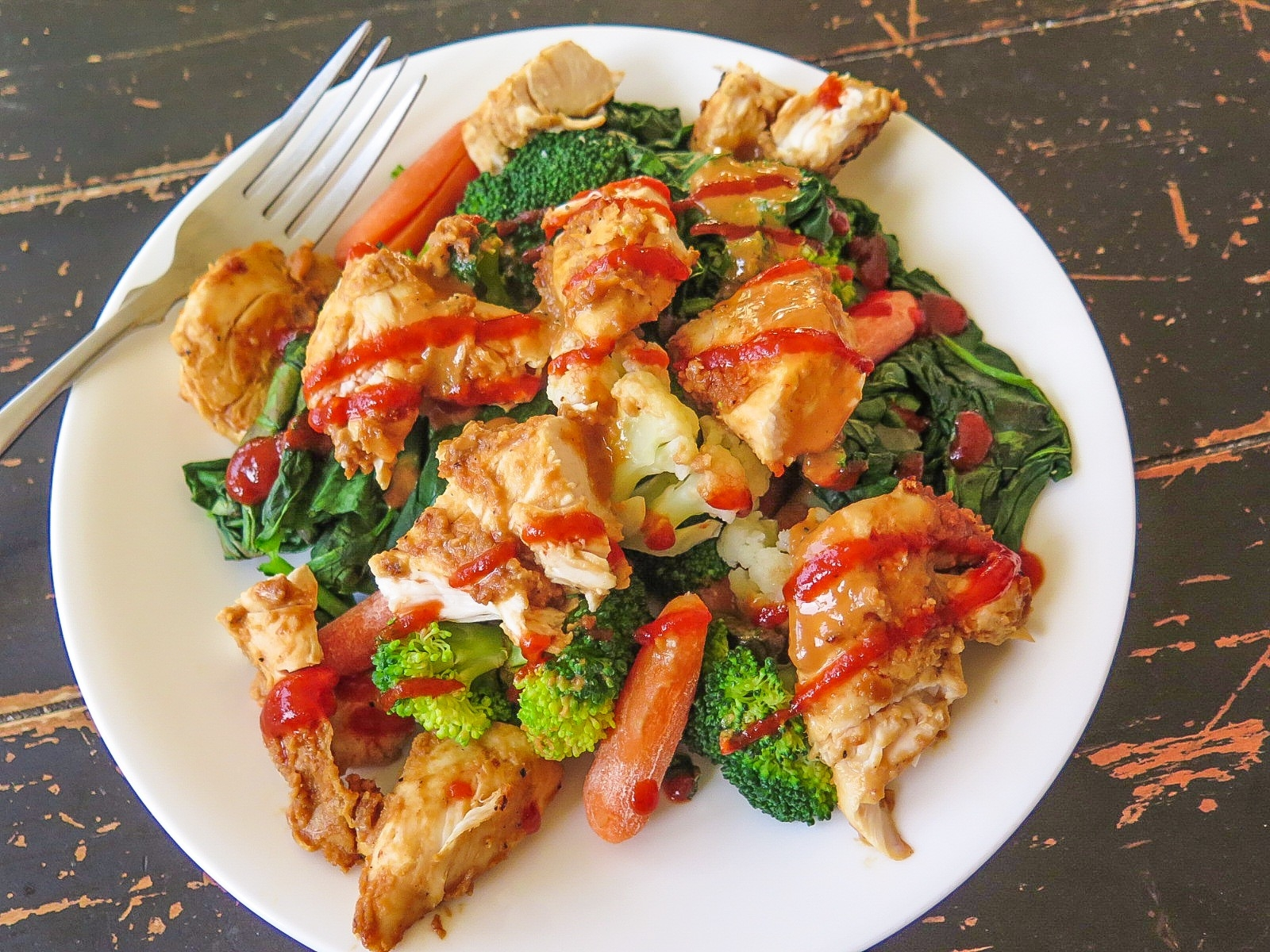 Spicy Peanut Chicken Recipe — Dishmaps