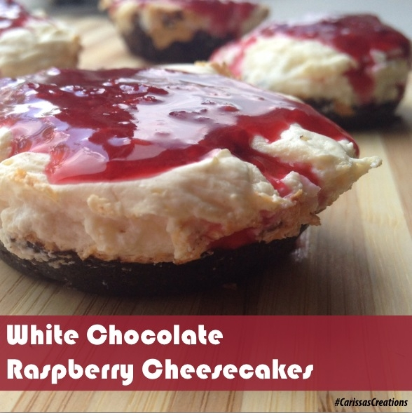 Ripped Recipes - White Chocolate Raspberry Cheesecakes