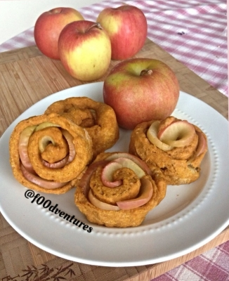 Apple Rose (Vegan) Cinnamon Rolls