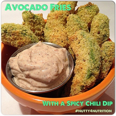 Avocado Fries With a Spicy Chili Dip