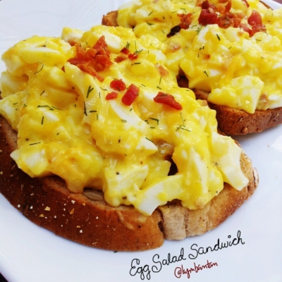 Bacon and Egg Salad Sandwich