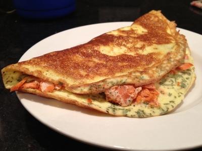 Baked Alaskan Omelet
