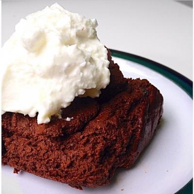 Baked Black Bean Brownie Batter