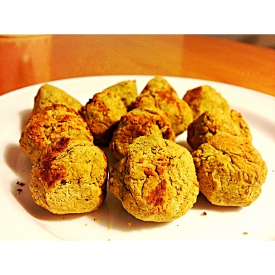 Baked Falafal Balls