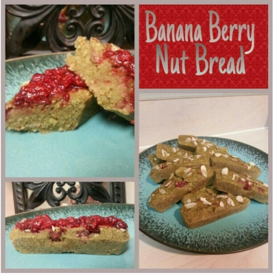 Banana Berry Nut Bread