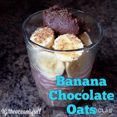 Banana Chocolate Oats
