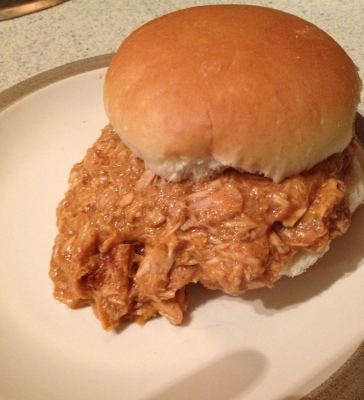 Barbecue Pulled Tuna (Pulled Pork Alternative)