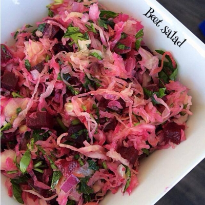 Beet and Souer Kraut Salad