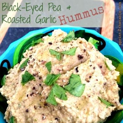 Black-Eyed Pea & Roasted Garlic Hummus