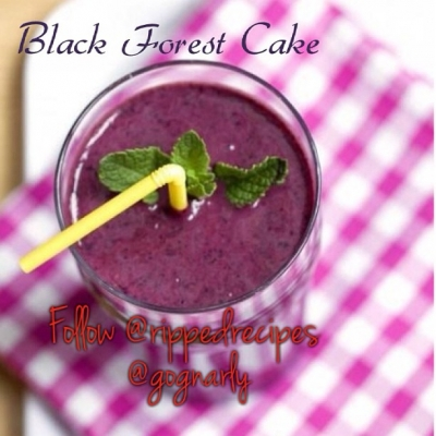 Black Forest Cake Protein Shake