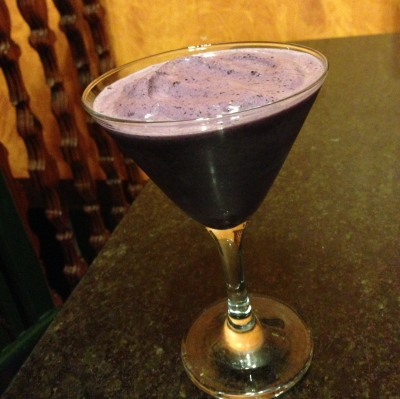 Blueberries Protein Shake