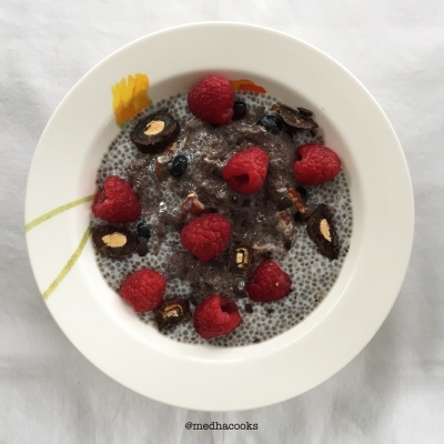 Blueberry & Vanilla Chia Seed Pudding