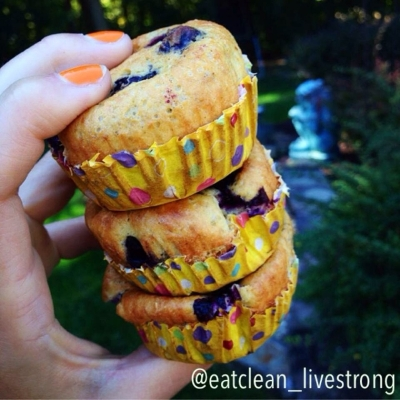 Blueberry Croissant Muffins