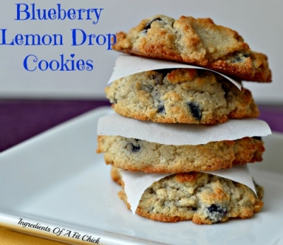 Blueberry Lemon Drop Cookies