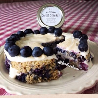 Blueberry Pie Oat Cake