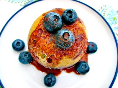 Blueberry Thyme Protein Muffin