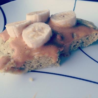 Breakfast Protein Cake
