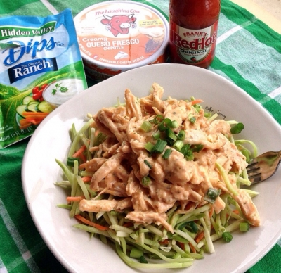 Buffalo Chicken Dip Salad