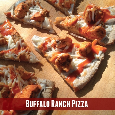 Buffalo Ranch Pizza