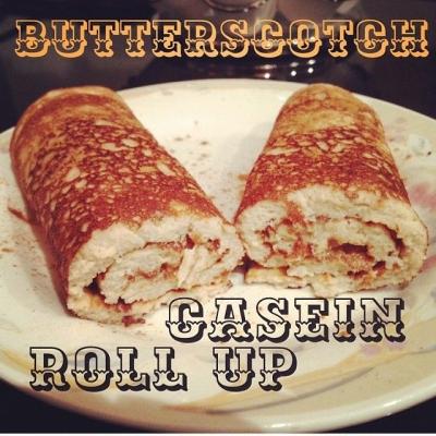 Butterscotch Casein Roll Up