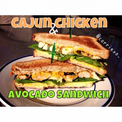 Cajun Chicken Avocado Sandwich
