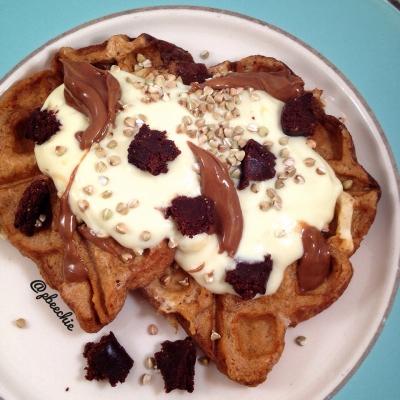 Caramel French Toast (Waffle-Style!)