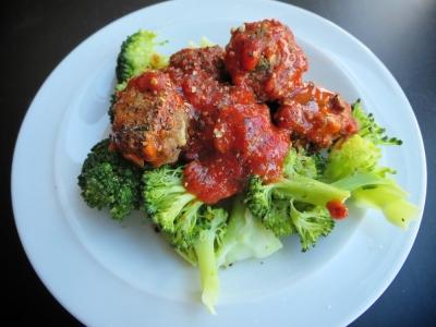 Cauliflower-Mushroom Meatballs