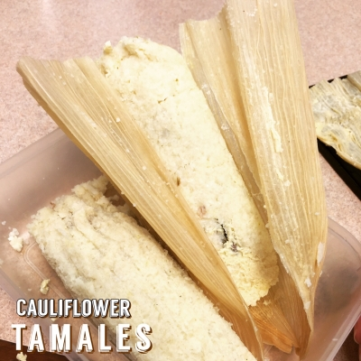 Cauliflower Tamales