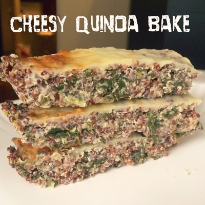 Cheesy Quinoa Bake