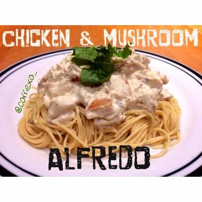 Ripped Recipes Chicken Amp Mushroom Alfredo