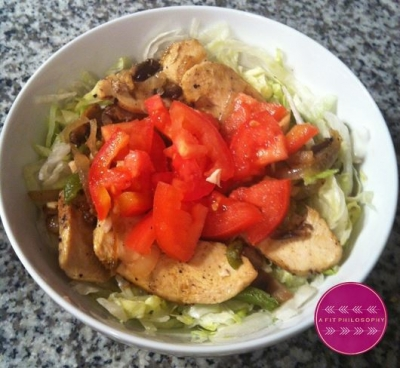 Chicken Philly Salad