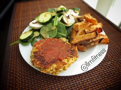 Chickpea Cauliflower Burgers