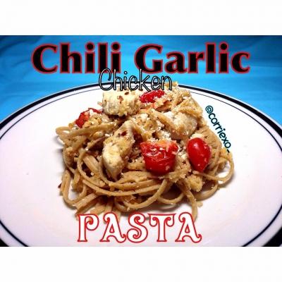 Chili Garlic Chicken Pasta
