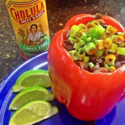 Chili Lime Stuffed Peppers