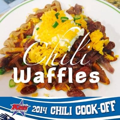 Chili Waffles