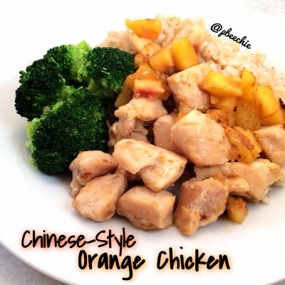 Chinese-Style Orange Chicken