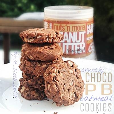 Choco-Pb Oatmeal Cookies