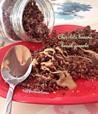 Chocolate Banana Bread Granola