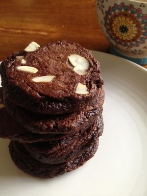 Chocolate Banana Paleo Pancakes