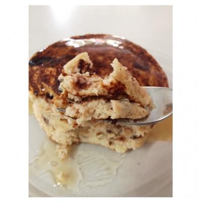 Chocolate Chip Protein Powderless Protein Pancakes