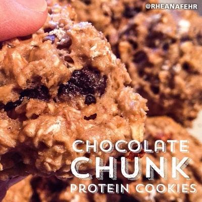 Chocolate Chunk Protein Cookies